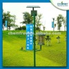 Outdoor energy saving 18 Watts solar powered garden lamp mosquito killer with solar panel and banner