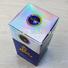 Holographic paper for paper box with Fresnel Lens or Water club pattern