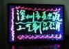 RGB LED neon writing board