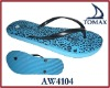 2012 popular eva rubber flip flop slippers