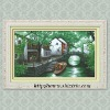 """Waterside Cottage"" cross stitch kit"
