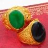 Hot sale fashion gold ring designs for men