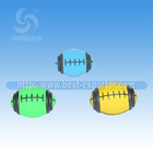 color pattern massage ball/color mini rugby ball/dice toy