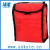 Red outdoor folding cooler bag For Drinking