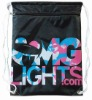 New drawstring bag with zipper