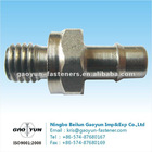Fine machining screw nozzle