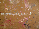 polyester micro suede embossing fabric