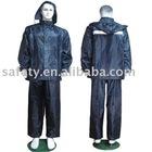 PVC/Polyester rain suit