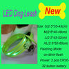 Most Popular led dog chain dog tag dog collar