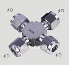 Stainless pneumatic pipe fitting