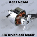 RC Hobby Electric Brushless Outrunner Motor for Airplane D2211-2300