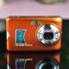 high definition 2.7 inch LCD Screen 12 million pixels Digital Camera(orange)