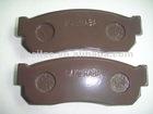 brake pad for subaru D1018