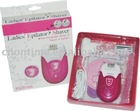 Lady's hair remover,Hair Remover,Ladie's hair remover,Electronic Hair Shaver