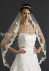 WA2059 lace edge wedding veils