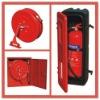 Plastic/steel fire exitinguisher / hose reel cabinet