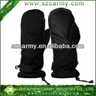 Black 65% Polyester 35% Cotton Anti-static Durable Thick Winter Gloves