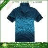 Newest 2013 Tie Dyed Mans Iron Free Pique Washed Golf Polo Shirts