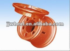 steel caster wheel rim