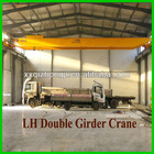 Double Rails Electric Hoist Overhead Crane