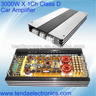 3000W Powerful Class D Car Amplfier