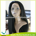 Beautiful Kinky Virgin Indian Remy Human Hair Full Lace Wig
