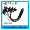 USB 10 IN 1 Multiple Travel Charger Cable