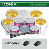 Manufactury the roll up drum kit from Konix