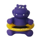 Hippo thermometers baby bath toy