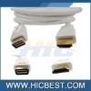 5ft / 1.6m White Mini DVI Male to HDMI Male Cable Cord
