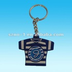 Clothes Shape 2 D Soft PVC keychain For Promotion Gifts
