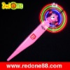 LED flashing fan pen( printed is available)