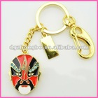 fashion creation diamond Beijing Opera Facial Masks 2gb jewelry usb flash drives