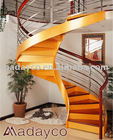 house staircase (wood & steel)