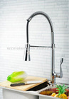 high quality pull out spray kitchen sink faucet with spring