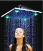 12 Inch Brass Chrome LED Rain Shower Head 080