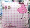 Pink princess cushion/Lovely cushion