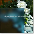 blue frosted float glass interior frosted glass door