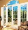 aluminium hinged door double glass balcony door inswing door