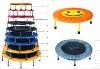 KING FITNESS indoor trampoline