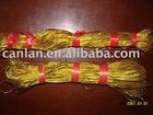 flexible elastic gold cord