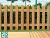 Water proof wpc fencing/rail for garden&park