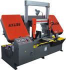 SINAIDA Brand 400mm Semi-auto Band Saw Machine For Metal Cutting
