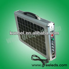 15W solar power home system with pull rod and wheels