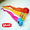 Cute interesting animal head swimming pool toy set
