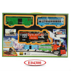 Kids Electric Slot Smoking Train Toy E04300