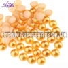 High Quality ABS/Plastic Half Pearl Beads (Topaz)
