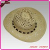Natural Straw Cowboy Hat, Promotion Straw Hat