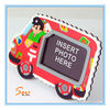Latest Plastic car-shaped Photo funny Frames love for Children
