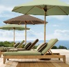 wooden beach chair outdoor furniture (DU-1)